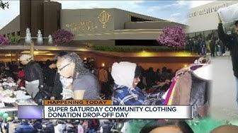 Super Saturday Clothing Donation Drop-off