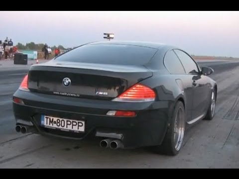 Bmw M6 Drag Race 1 4 Mile
