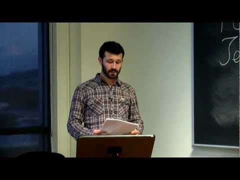 "PCC Forum, ""Depression, Soul, and Growing Down in a Manic Culture"", Jesse Estrin 2012-04-13.mov"