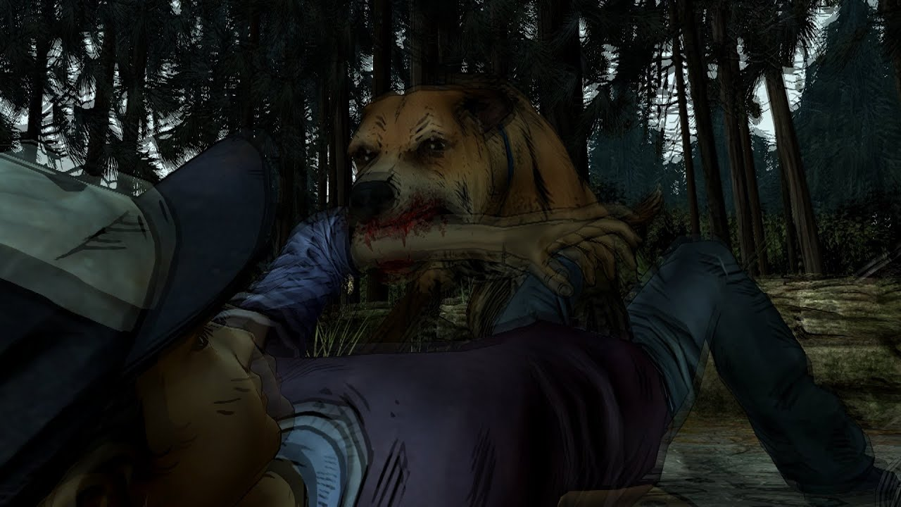 Walking Dead Season  Dog Bite