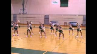 Plainfield Central Pomcats - Missy Elliot Music make you lose control Pom dance routine Illinois