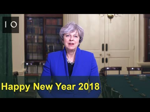 New Year 2018: Theresa May's Message