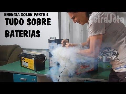 Baterias para energia solar (vídeo 2)