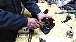 Замена подвесного подшипника правого привода колеса Рено Лагуна 2