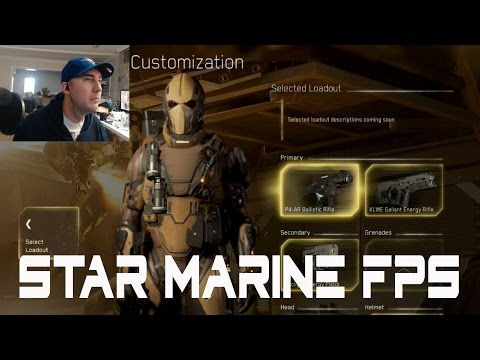 Star Citizen Star Marine FPS 2.6 update Lets PLay