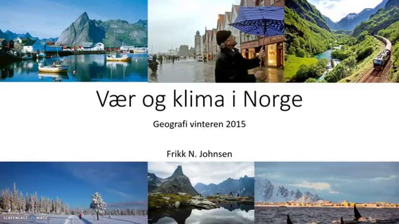 vær i norge