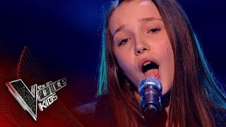 Lucy Performs 'Moon River': Blinds 3 | The Voice Kids UK 2018