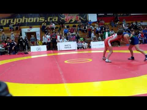 2015 Canada Cup: 53 kg Jade Parsons (CAN) vs. Giulia De Oliveira (BRA)