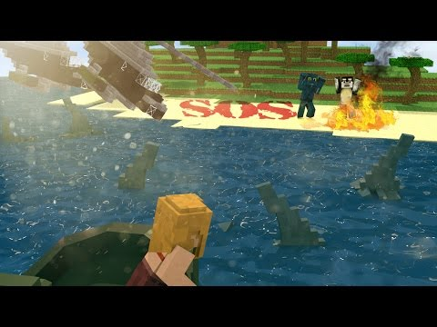 Jaws Movie 2 - THE SHARK GUARDIAN OF AMITY ISLAND!! (Minecraft Roleplay) #6