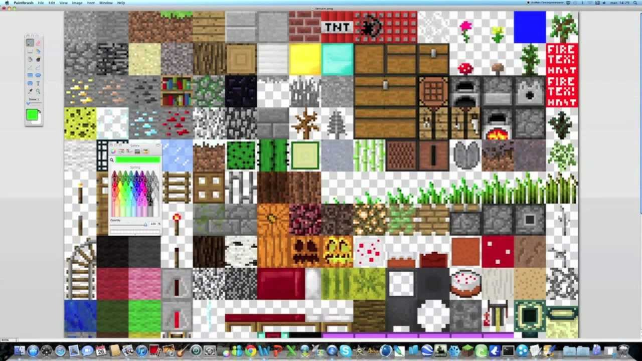 comment creer son propre pack de texture minecraft sur mac