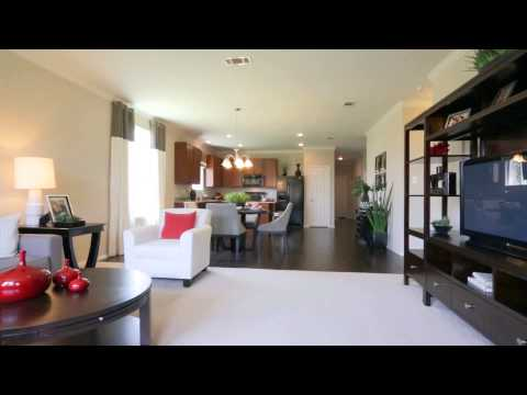 New Single Family Homes by Centex - Compton Floorplan
