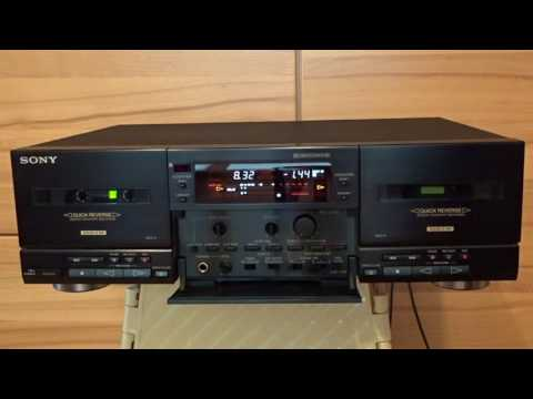 Sony TC-WR835S Double Tape Deck with Special Features
