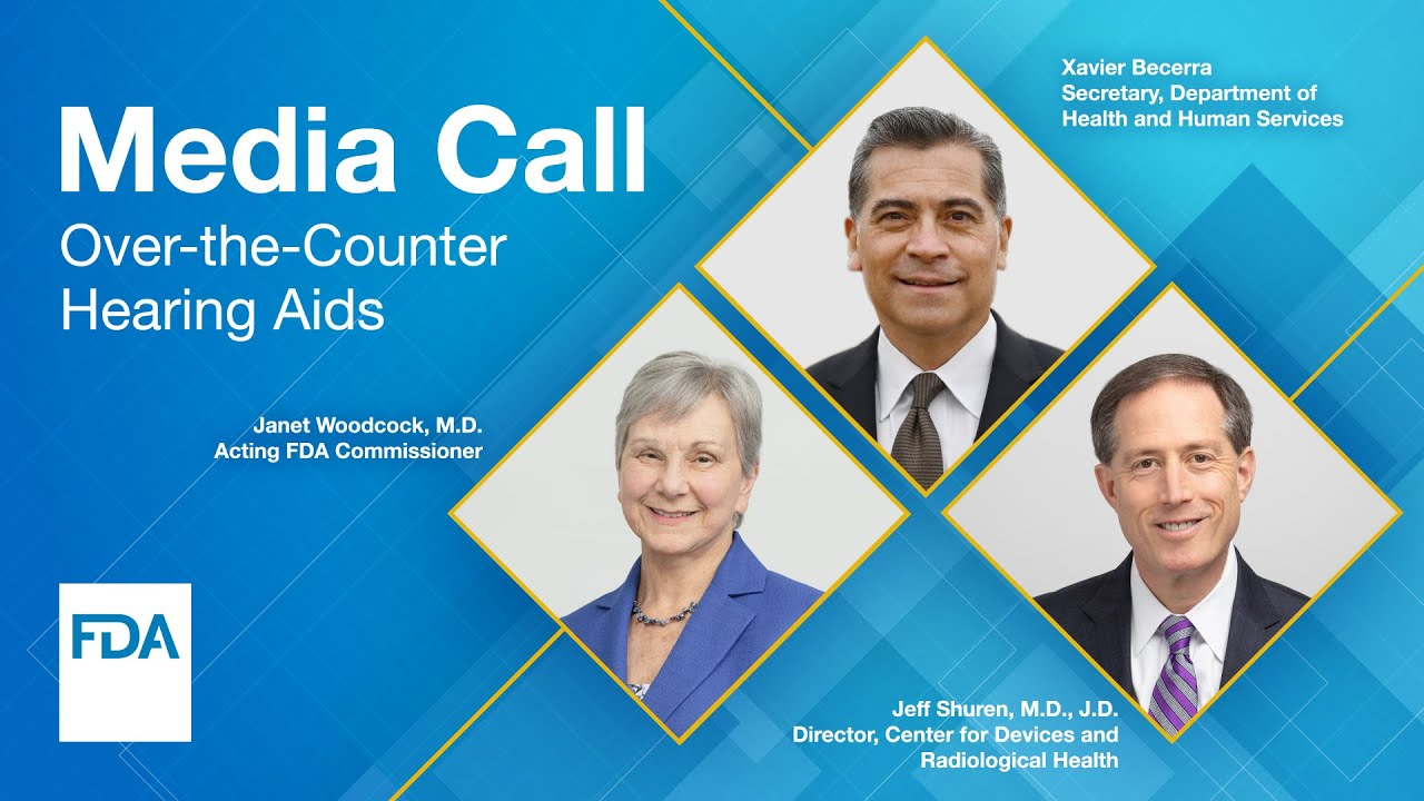 Media Call: Over-the-Counter Hearing Aids - 10/19/2021