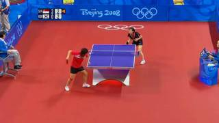 Li Jia Wei and Feng Tian Wei at 2008 Beijing Olympics (HD)