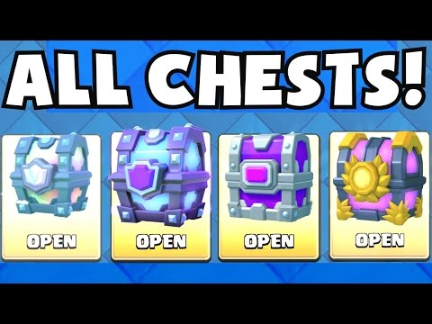 OPENING ALL OF THE BEST CHESTS | Clash Royale LEGENDARY CHEST / SUPER MAGICAL CHEST / EPIC UNLOCKING