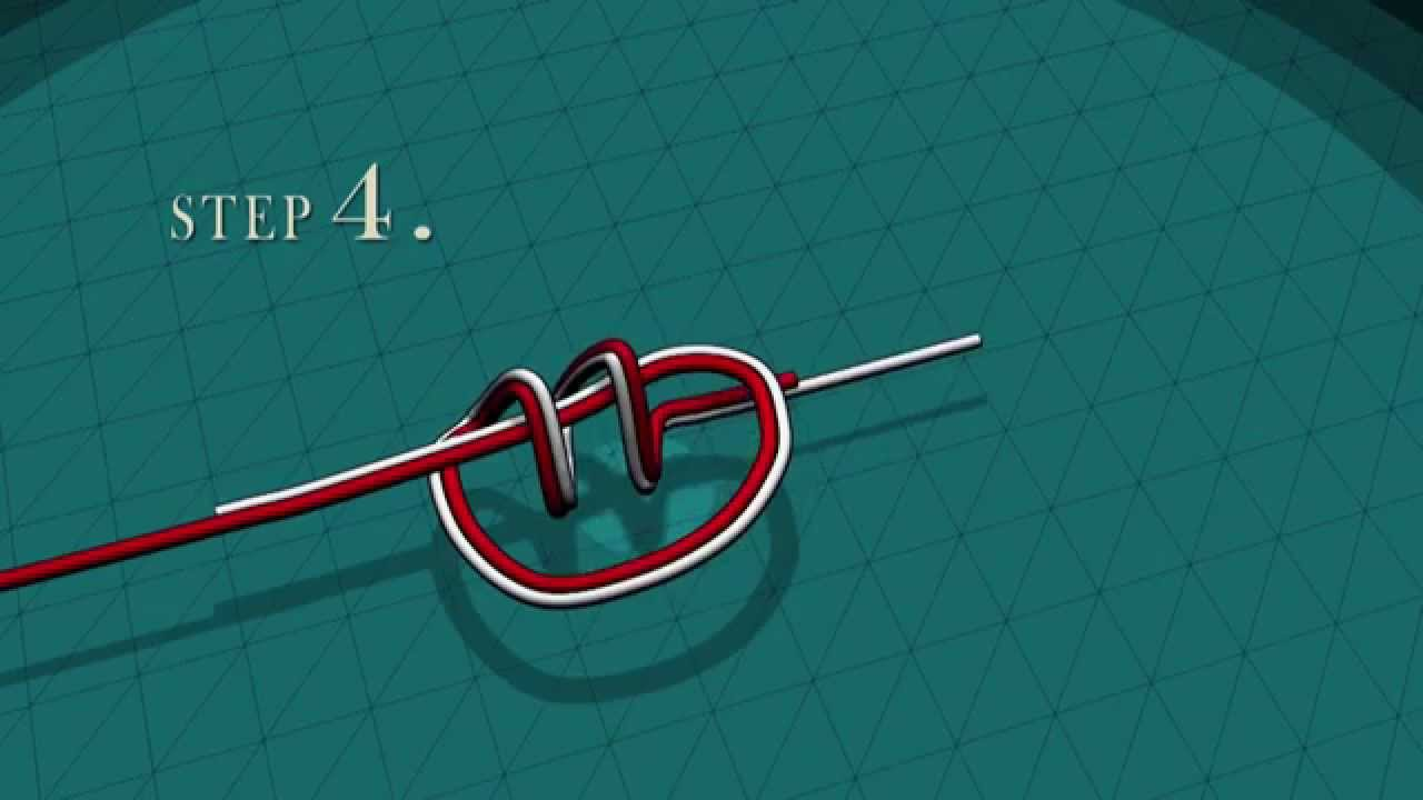 Basic Fishing Knots  How To Tie A Clinch Knot And A Triple Overhand Knot