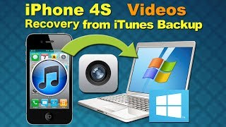 Videos Recovery for iPhone 4S: How to Retrieve Deleted Videos from iPhone 4S iTunes Backup