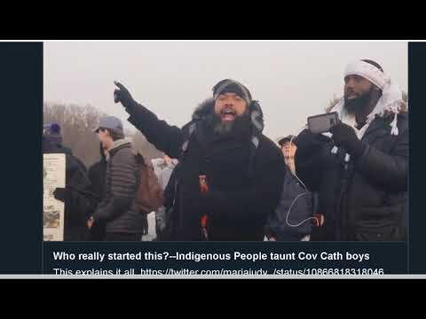 The deleted story: Omaha Nation, Covington Catholic School, Indigenous March, Black  Israelites