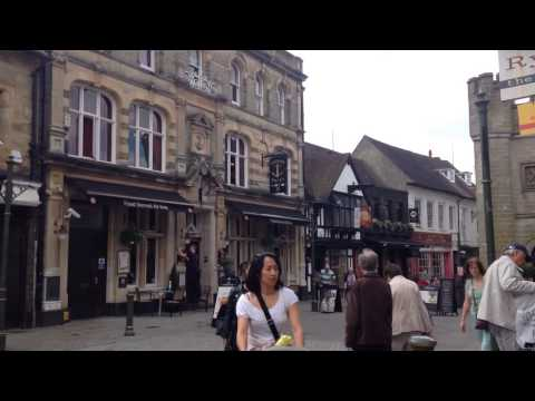 The Market Town of Horsham West Sussex, United Kingdom