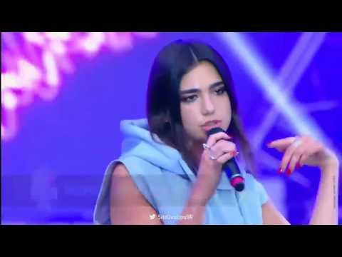 """Dua Lipa Performs """"Blow Your Mind"""" at Europa Plus LIVE"""