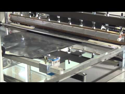 HDPE and LDPE film bag making machine