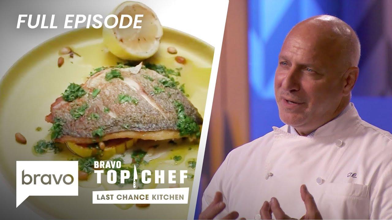 Cooking Family Style Karen Vs Nini Top Chef Last Chance Kitchen S17 E6 Youtube