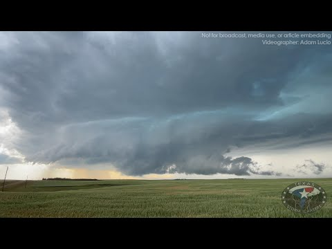7/8/2021 • Bowman, ND to Faith, SD Supercell Structure, Rotation & Hail