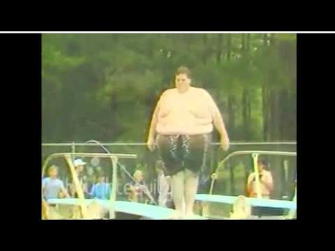 FAT PEOPLE FALLING BACKWARDS! FUNNY - YouTube