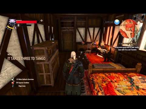 The Witcher 3: It Takes Three to Tango walkthrough
