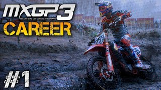 MXGP 3 Career Mode Part 1: Qatar Gameplay PC - 2 Stroke Championship