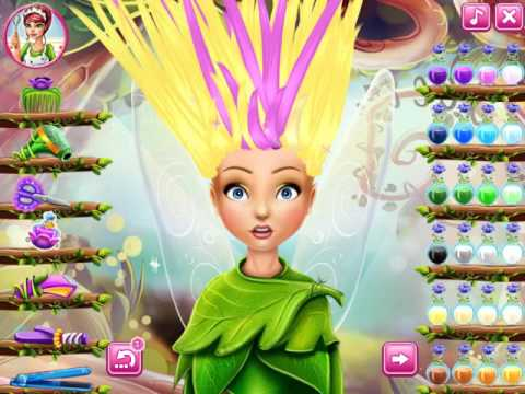 Games 4 Girl Pixie Hollow Real Haircuts Games Barbie And Games For