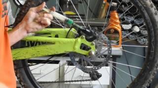 Регулировка дисковых гидравлических тормозов велосипеда.(Технические особенности настройки и приёмы необходимые при регулировки дисковой гидравлики велосипеда...., 2016-08-06T16:34:30.000Z)