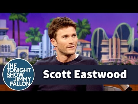 Scott Eastwood Goes Wakeboarding While Sipping a Beer