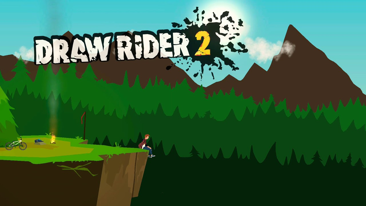Draw Rider 2 Android Gameplay Youtube