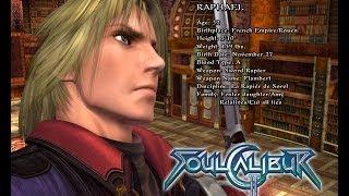 Soul Calibur 2 HDO - Raphael Character Tutorial