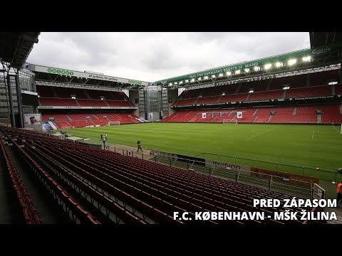Tlačová konferencia pred zápasom F.C. København - MŠK Žilina