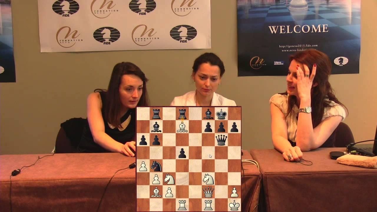 Press Conference Round 4: Kateryna Lagno (UKR) - Alexandra ...