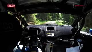Václav Pech ● RZ13 ● Rallye Český Krumlov 2018 ● ONBOARD