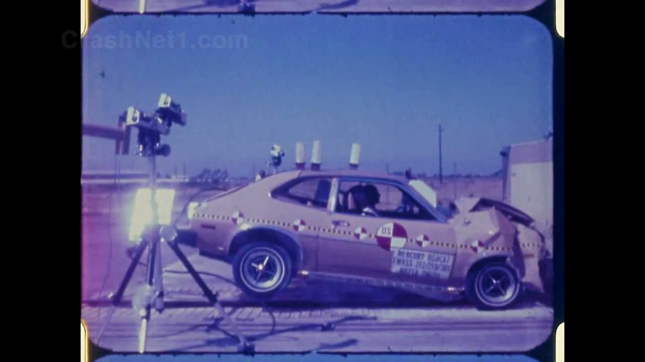 1979 Mercury Bobcat / Ford Pinto | Frontal Crash Test by ...