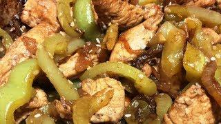 Как приготовить Курицу с овощами в соевом соусе - рецепт бомба