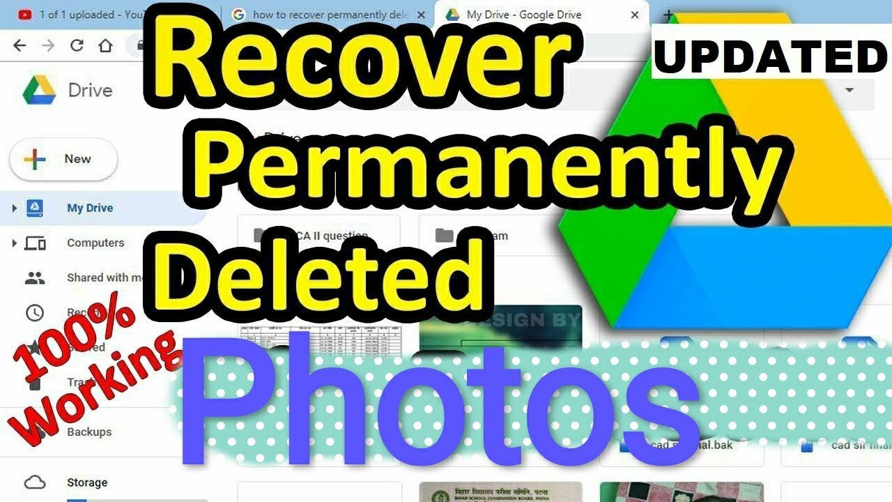 🔥🔥How to recover deleted photos
