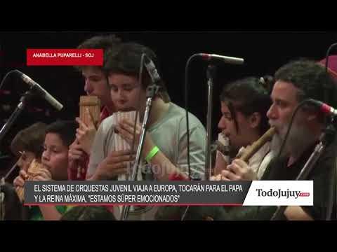 Orquestas Juveniles de Jujuy tocará en Europa para el Papa y la Reina Máxima