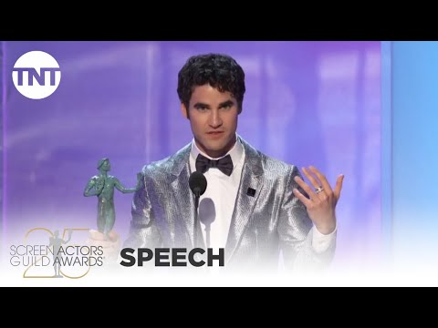 Darren Criss: Award Acceptance Speech | 25th Annual SAG Awards | TNT