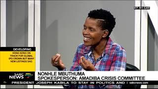 Mantashe hopes to return to Xolobeni