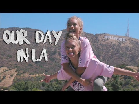 Our day in LA w/ New Hope Club | Lisa and Lena