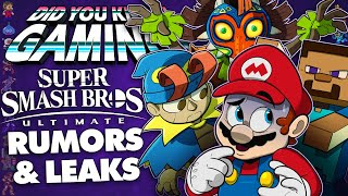Super Smash Bros Ultimate Rumors & Leaks - Did You Know Gaming? Ft. Remix