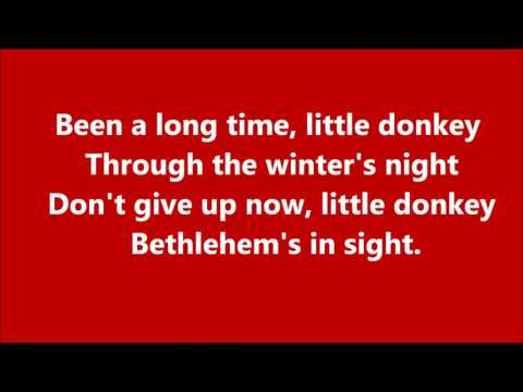 little donkey music and lyrics