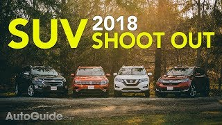 4 Crossover Comparison: 2018 Honda CR-V vs Nissan Rogue vs Volkswagen Tiguan vs Chevrolet Equinox