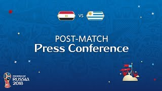 fifa world cup 2018 egypt - uruguay post match press conference