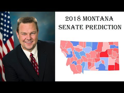 2018 Senate Predictions - Who Will Win Montana Senate Election? - Jon Tester vs Matt Rosendale